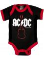 Body Bebé AC/DC Gibson