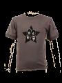 Camiseta Kiss eco vintage Black para bebé