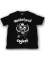 Camiseta Motörhead England para niños