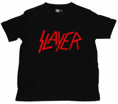 Camiseta Slayer Logo Red para niños