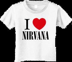 Camiseta Nirvana Love para niños