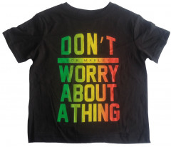 Camiseta Bob Marley Don't Worry About a Thing para niños