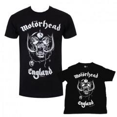 Duo Rockset con camiseta para papá de Motörhead y camiseta para niños de Motörhead