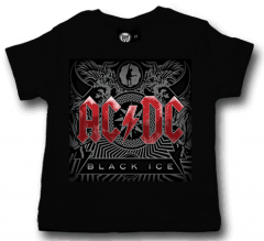 Camiseta AC/DC Black Ice para bebé