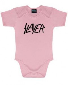 Body Bebé Slayer Logo Pink