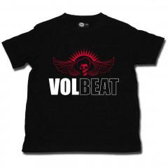 Camiseta Volbeat Skullwing para niños