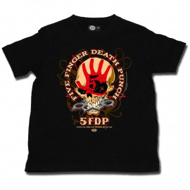 Camiseta Five Finger Death Punch para niños