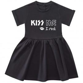Vestido Bebés Kiss me I rock