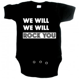 Body Bebé Cool we will Rock you