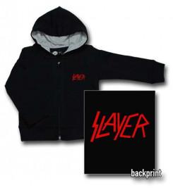 Chaqueta para bebé de Slayer Logo Red con cremallera y capucha