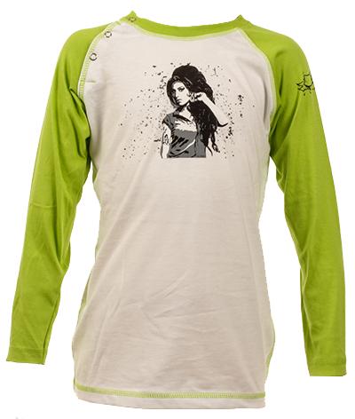 Camiseta de manga larga infantil de Amy Winehouse – Dyno Organic 100%