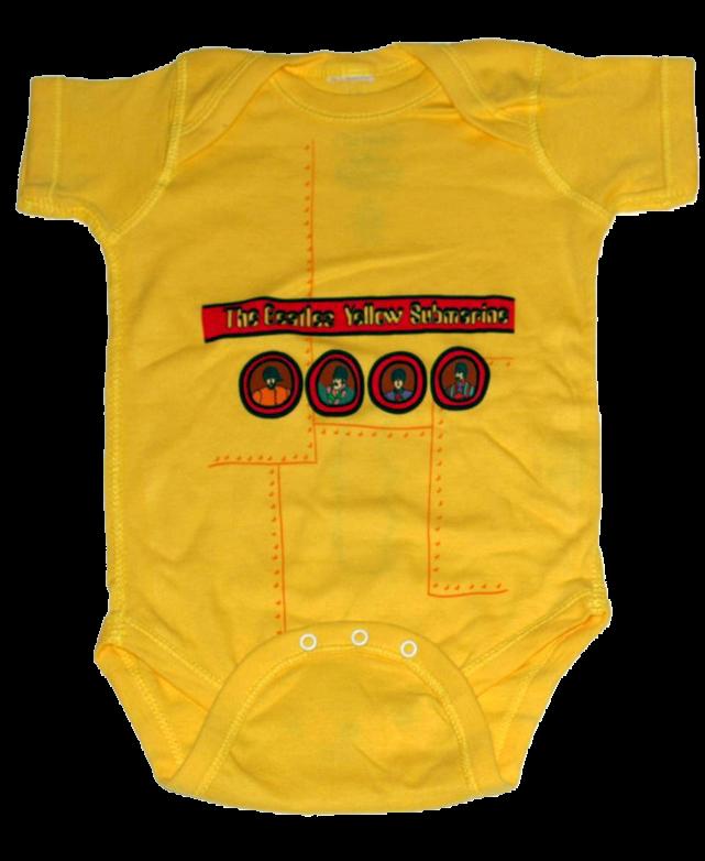 Body Bebé Beatles Yellow Submarine