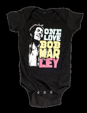 Body Bebé Bob Marley Smile Love