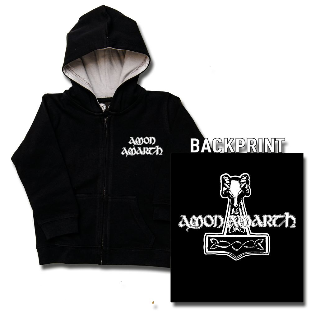Amon Amarth Baby Thor's Hammer sweater (Print On Demand)