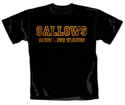 Camiseta Gallows School For Wolves para niños