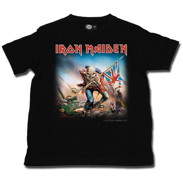 Camiseta Iron Maiden para niños Trooper