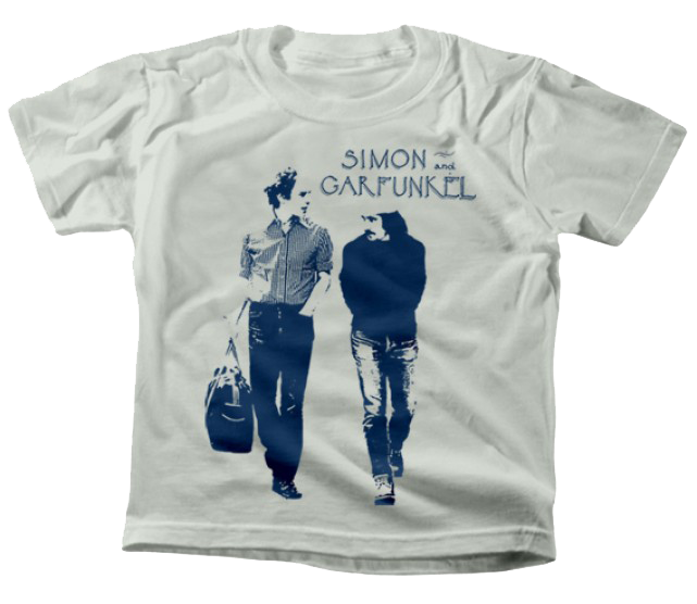 Camiseta para niños de Simon and Garfunkel Walking