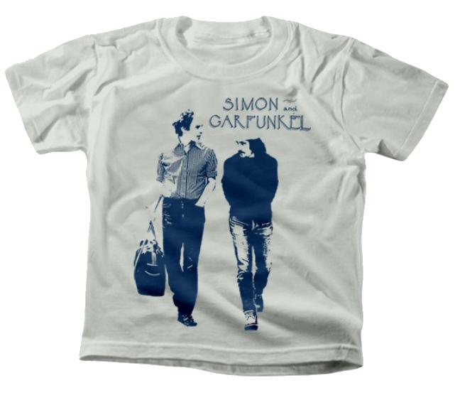 Camiseta para niños de Simon and Garfunkel Walking