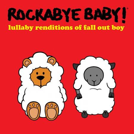 Rockabyebaby Fall Out Boy CD
