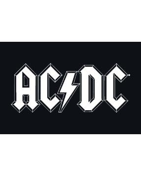 Camiseta AC/DC para niños Logo White