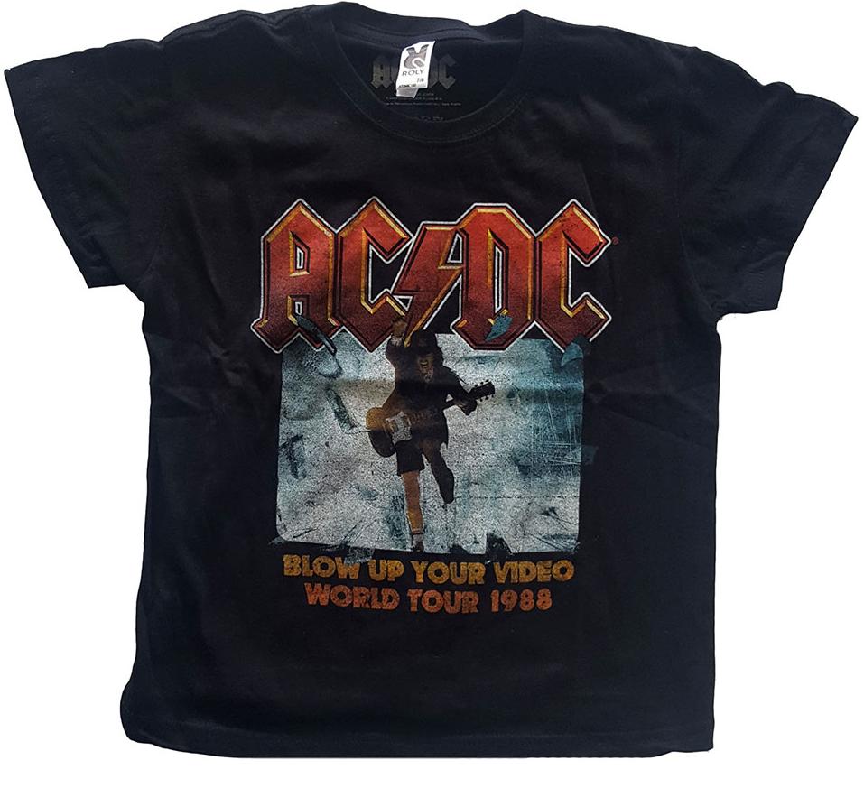 Camiseta AC/DC para niños Blow Up Your Video