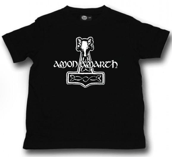 Camiseta Amon Amarth Hammer para niños