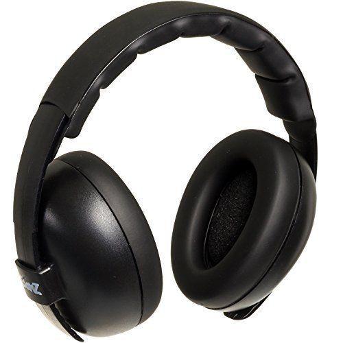 Protección auditiva para bebés BabyBanz Black