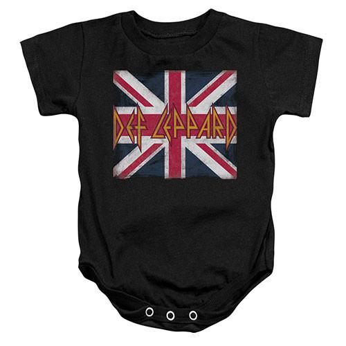 Body Bebé Def Leppard Lil Union Jack