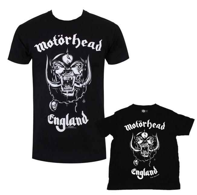 Duo Rockset con camiseta para papá de Motörhead y camiseta para bebés de Motörhead