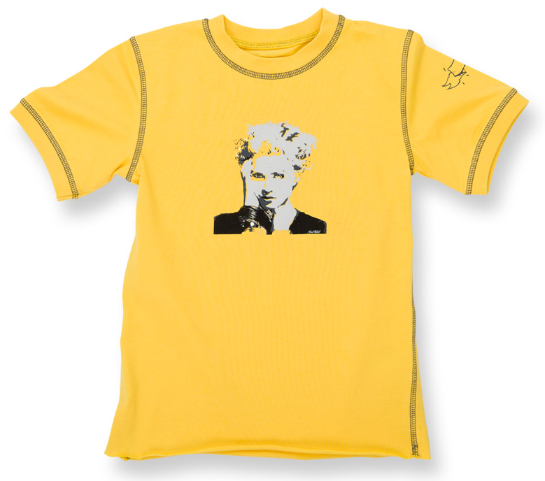 Camiseta Madonna eco vintage Lemon para bebé