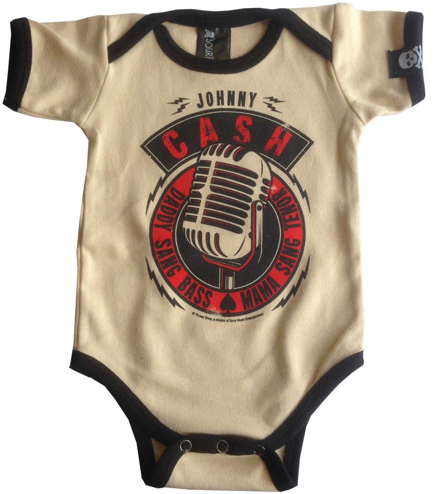 Body Bebé Johnny Cash Daddy Sang Bass
