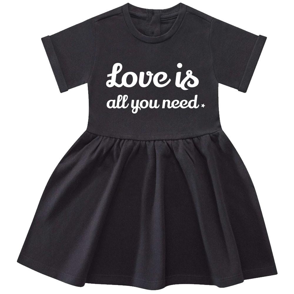 Vestido Bebés Love is all you need