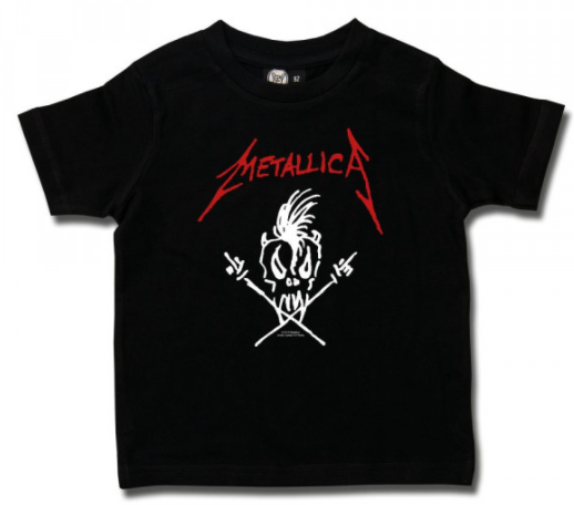 Camiseta para niños Metallica Scary Guy