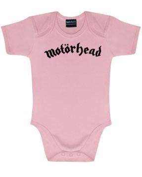 Body Bebé Motörhead Logo Pink