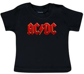 Camiseta AC/DC Logo Colour para bebé