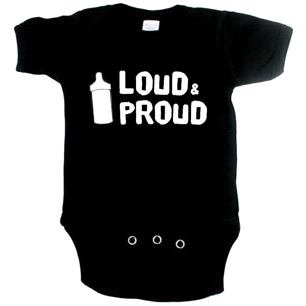 Body Bebé Cool loud and proud