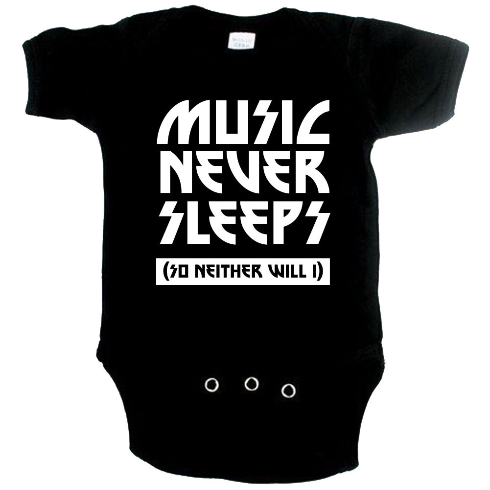 Body Bebé Cool music never sleeps so neither will I