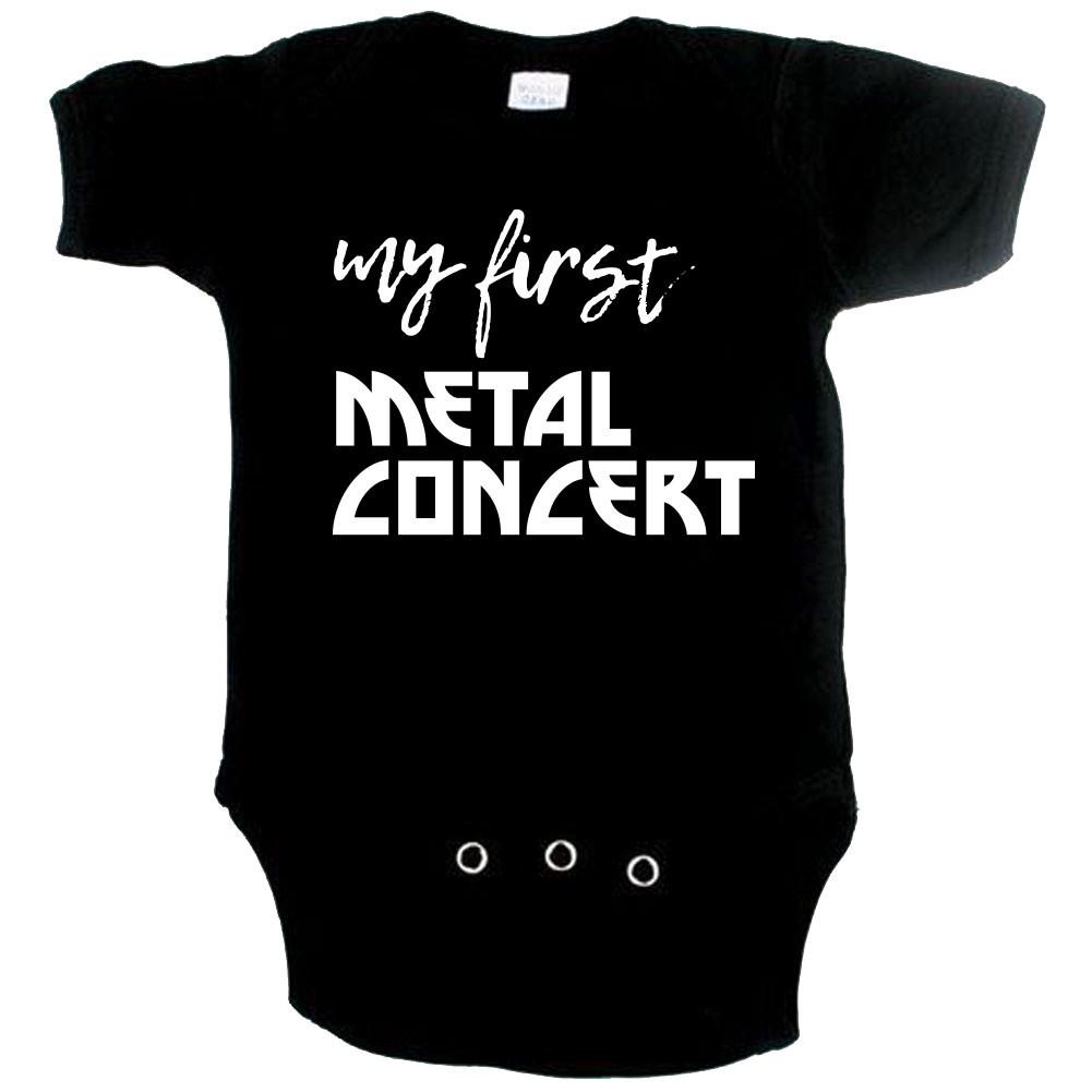 Body Bebé Metal my first Metal concert