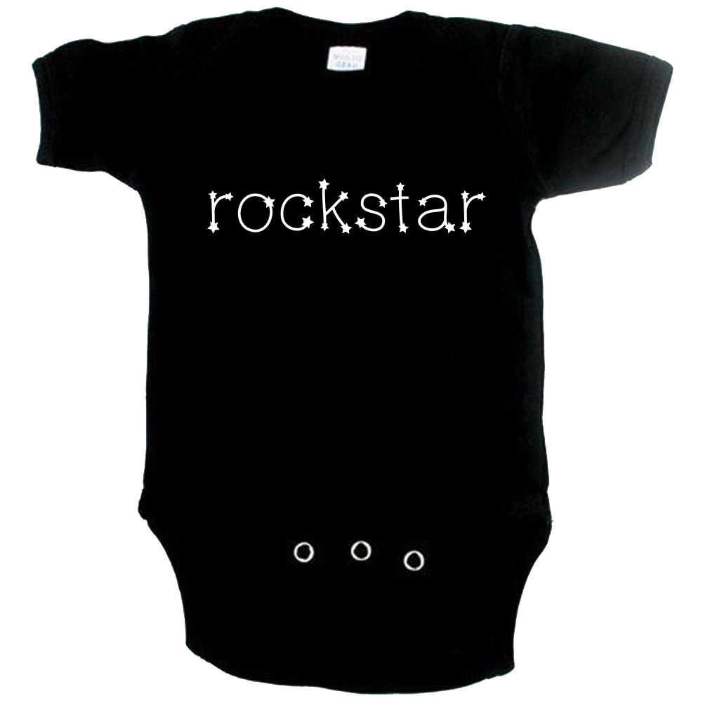 Body Bebé Rock Rockstar