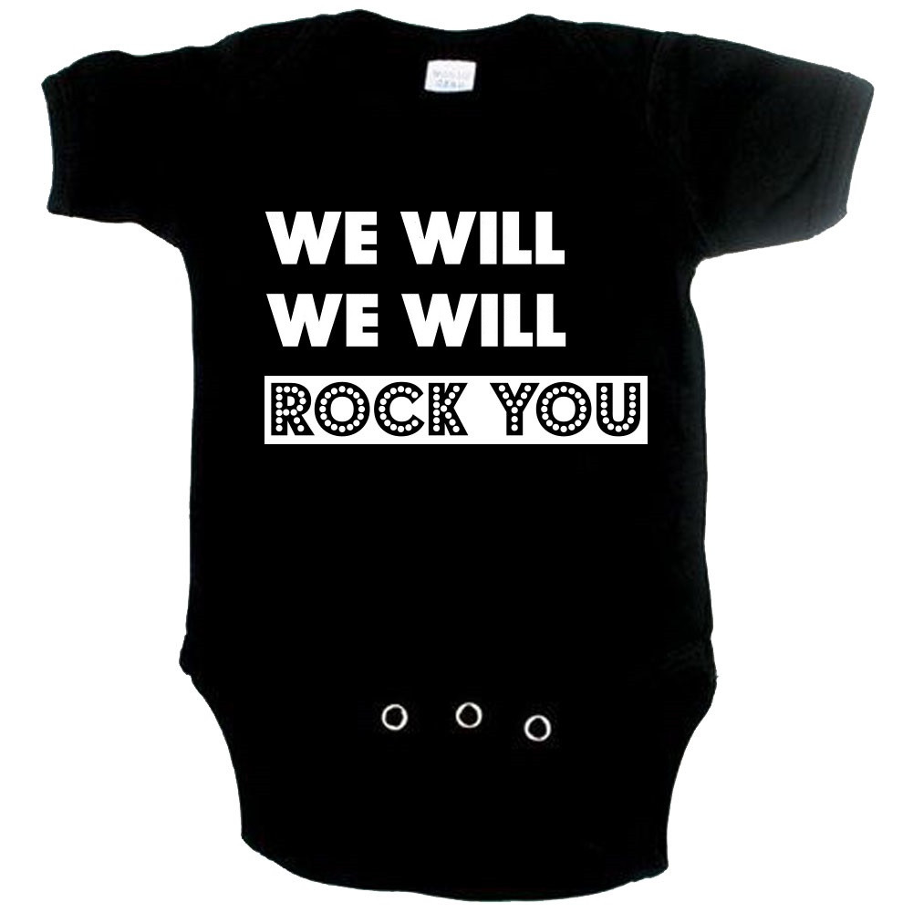 Body Bebé Cool we will Rock you