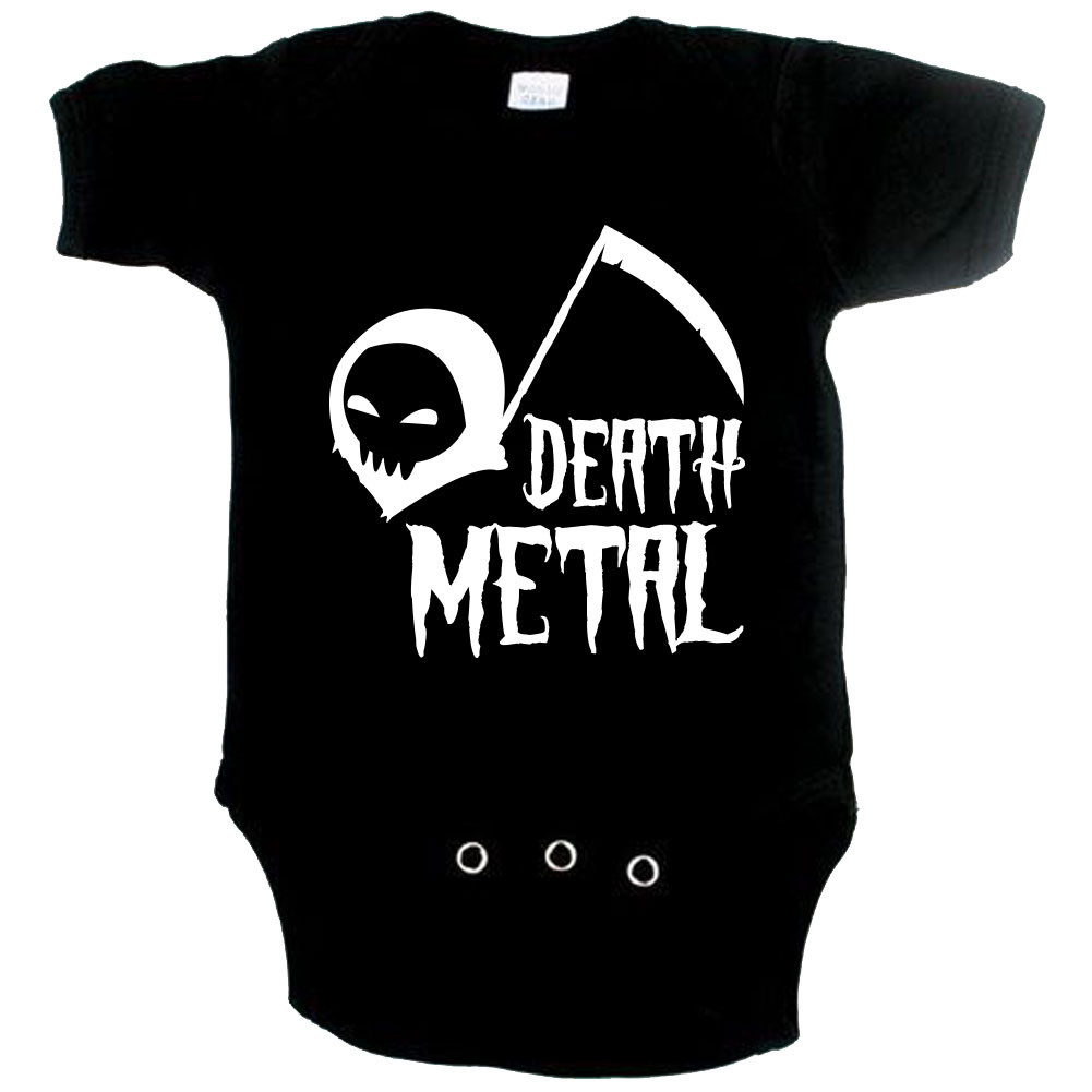 Body Bebé Metal Daddys little Metal head