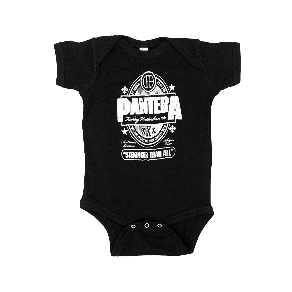 Pantera Baby Onesie Stronger Than All