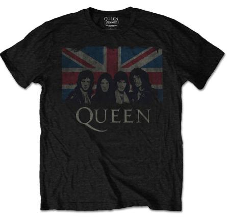 Camiseta Queen para niños England Flag