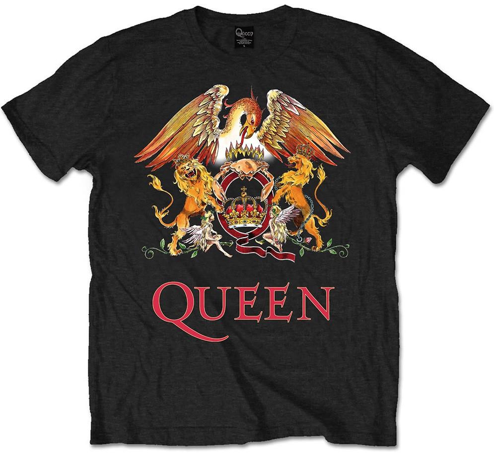 Camiseta Queen para niños Classic Crest