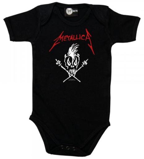 Body Bebé Metallica Scary Guy