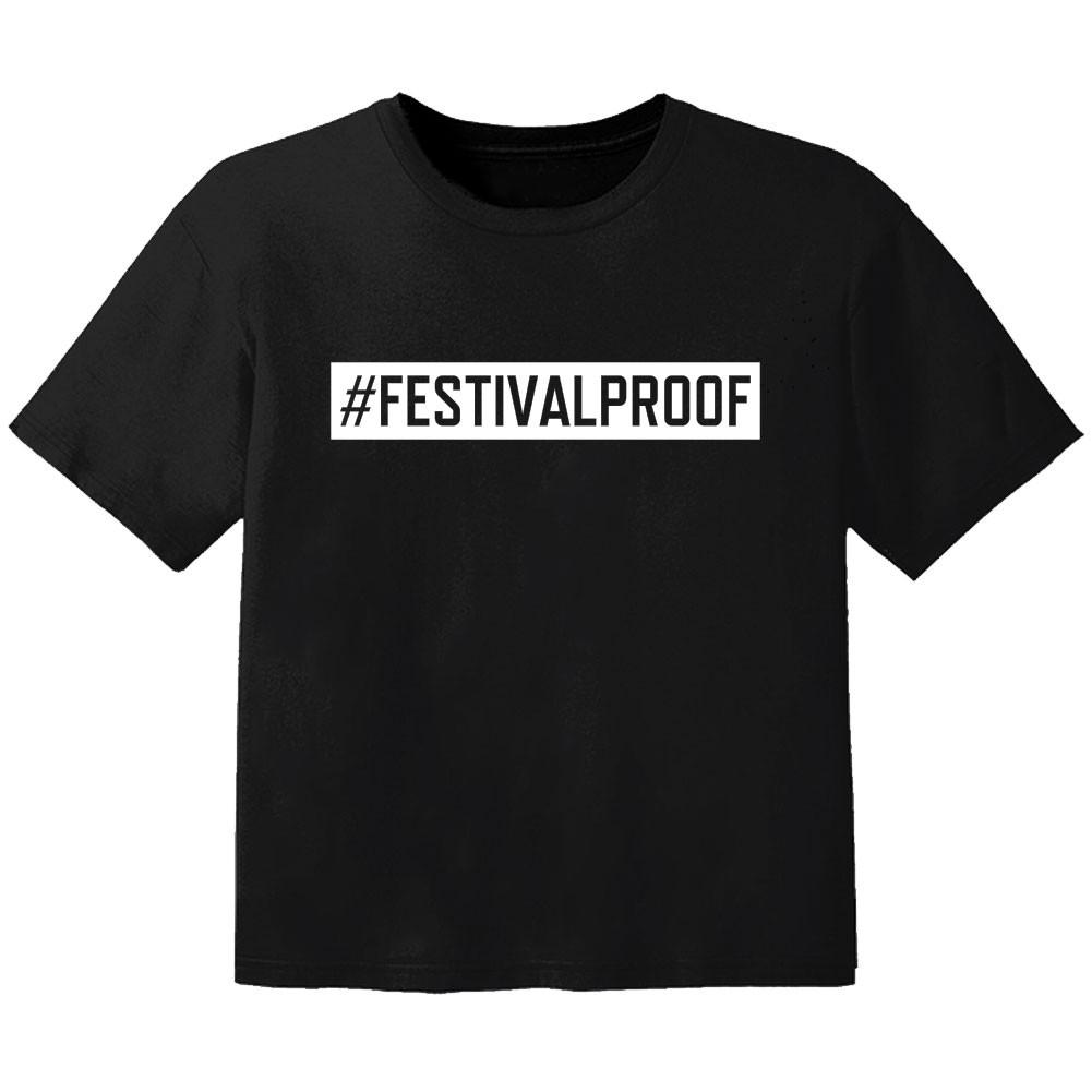 Festival T-shirt para bebé #festivalproof