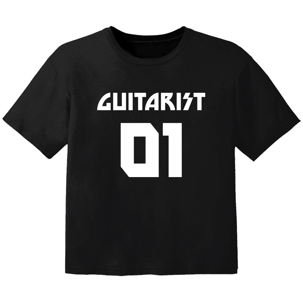 Camiseta Rock para niños guitarist 01