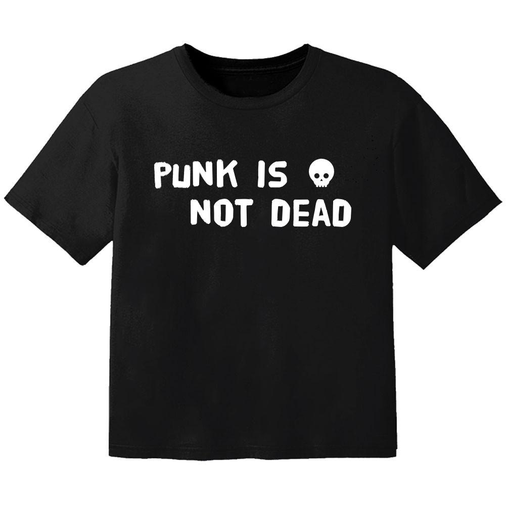 Camiseta Rock para niños Punk is not dead