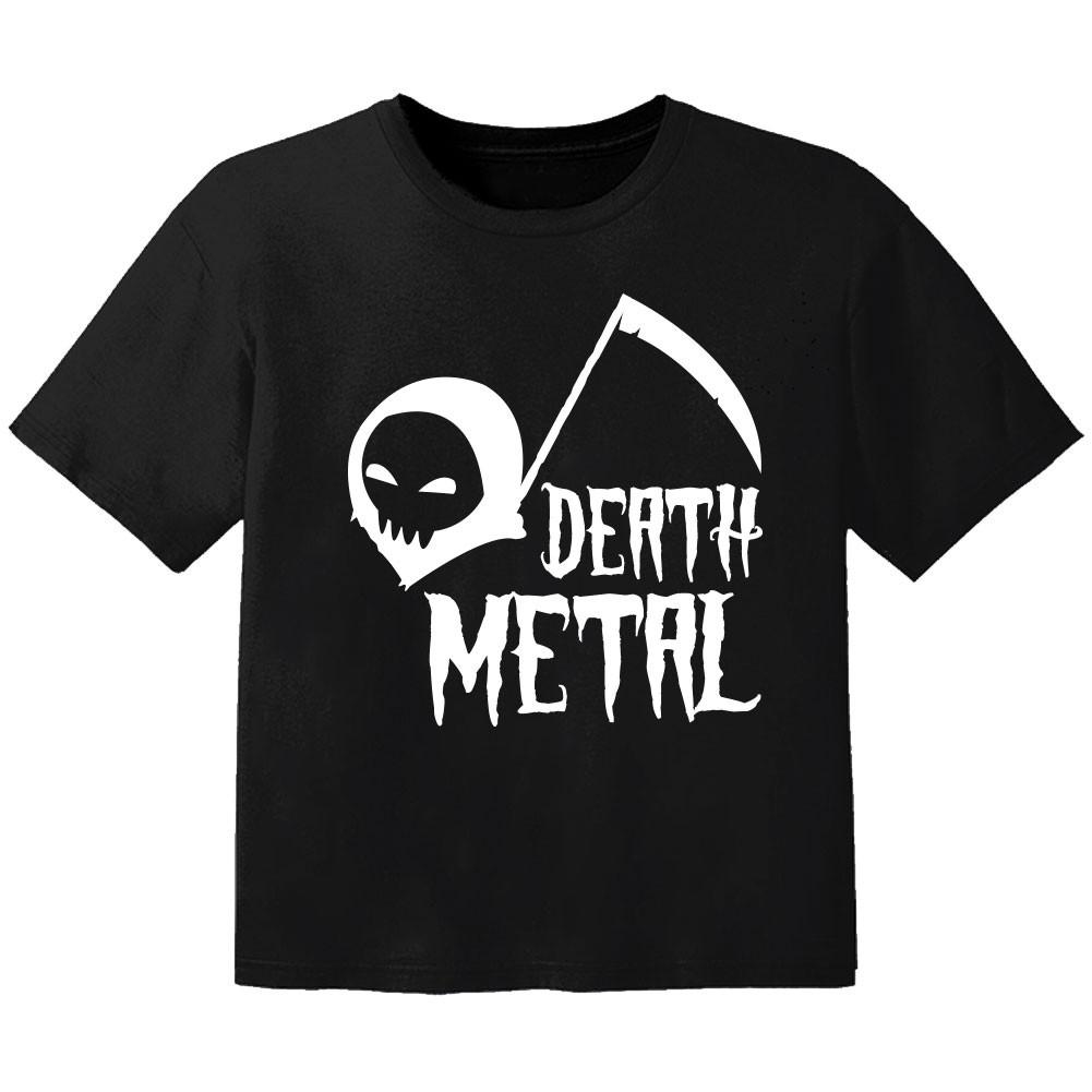 Camiseta Metal para bebé death Metal