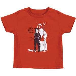 Camiseta White Stripes Krampus para niños
